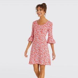 Draper James hibiscus dress size 12